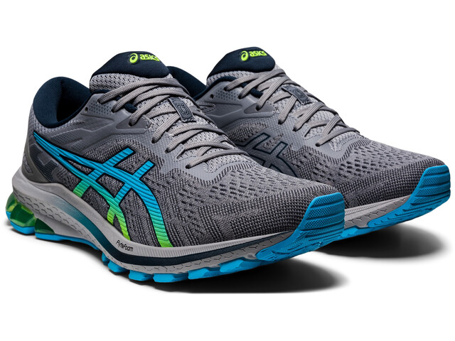 asics GT-1000 10 Shoes Men, grijs/groen